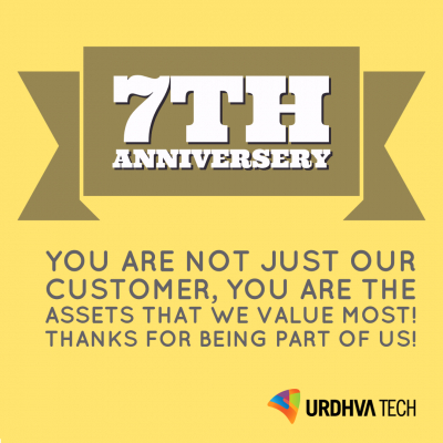 Thank you for your support as we celebrate our 7 years in business