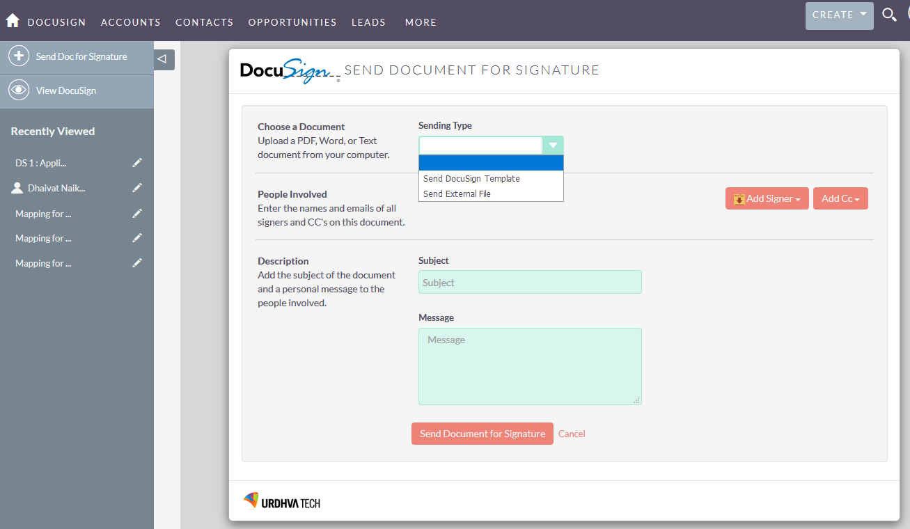 SuiteCRM for DocuSign