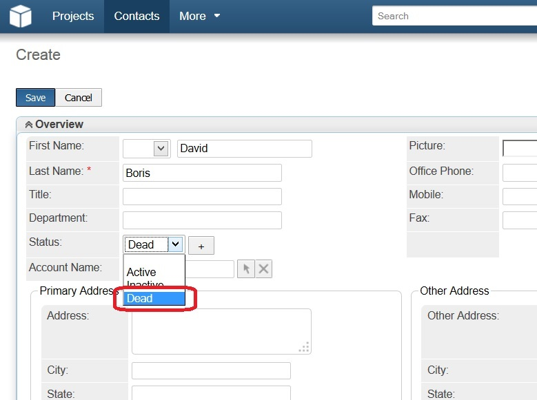 Dynamic Dropdown new option added