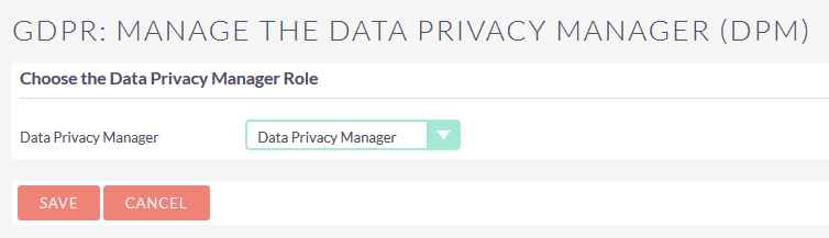 SuiteCRM GDPR Data privacy manager