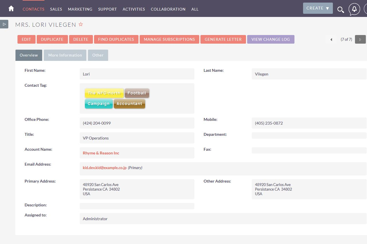 Tag management for suitecrm - Suite cm ...